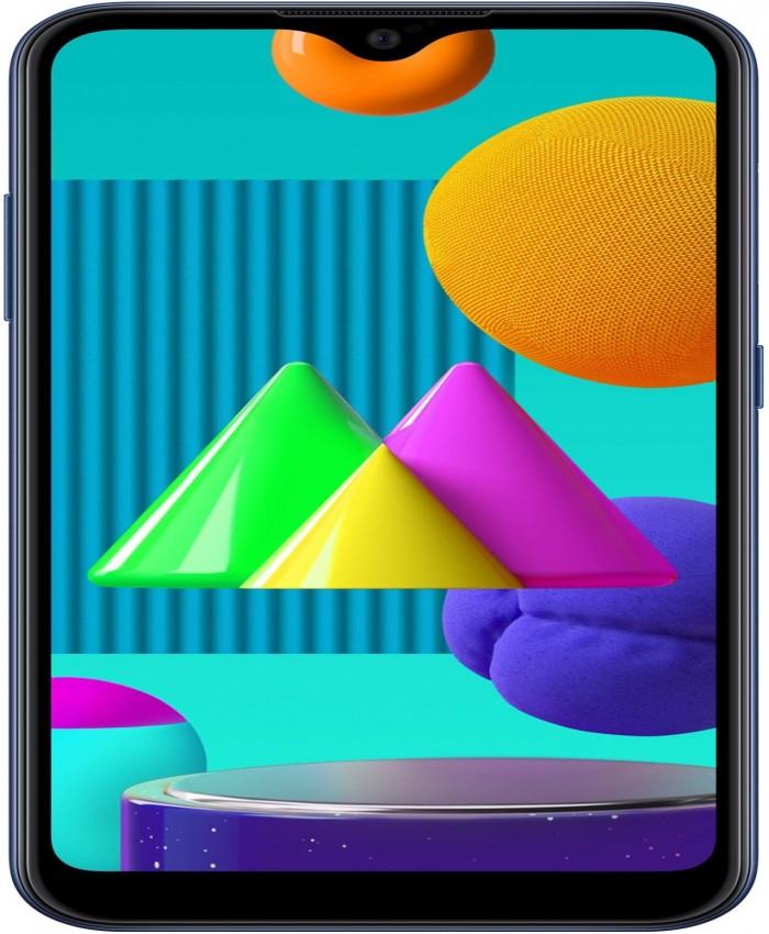 Samsung Galaxy M01 (Blue, 32 GB)  (3 GB RAM)