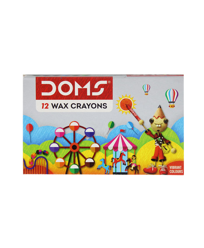 Dom's Wax Crayons