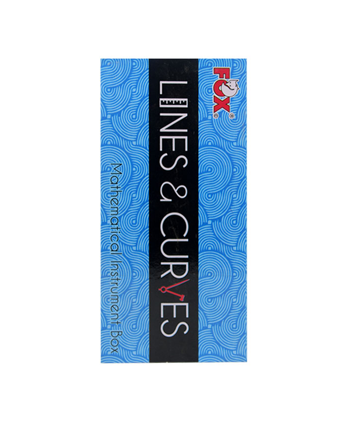 Lines Curves Mathematical Instrument Box