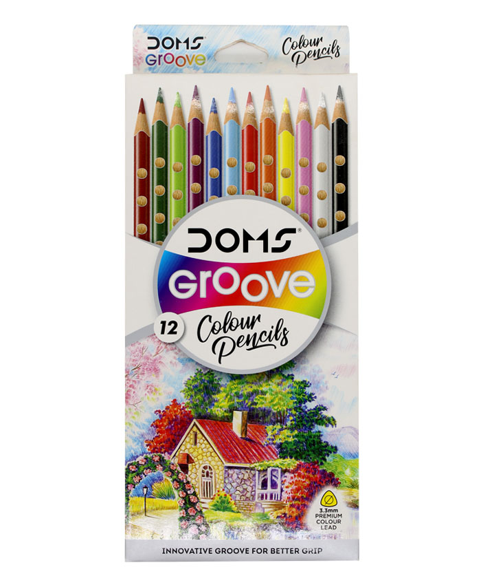 Domes Groove Colour Pencils
