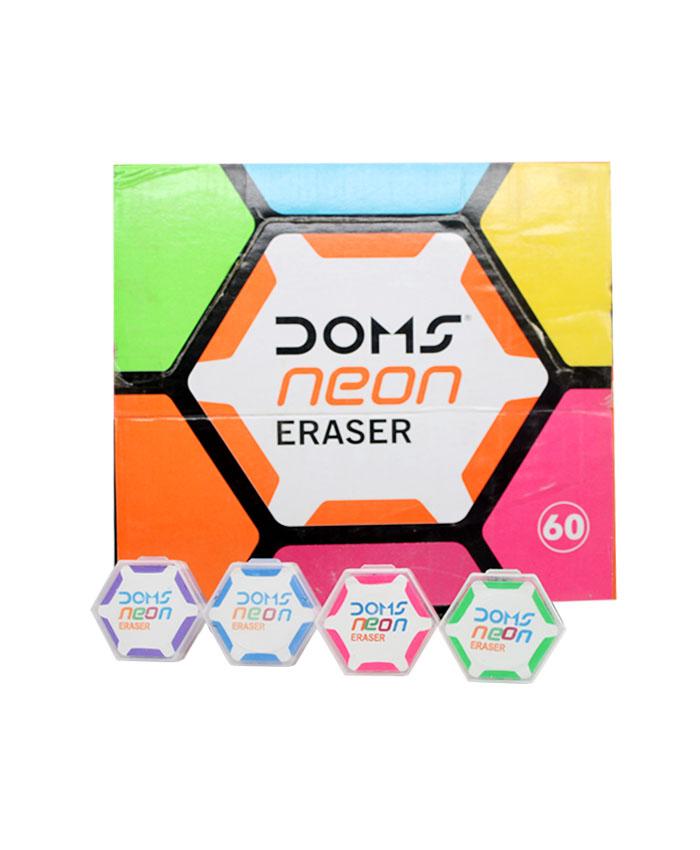 Doms Neon Eraser