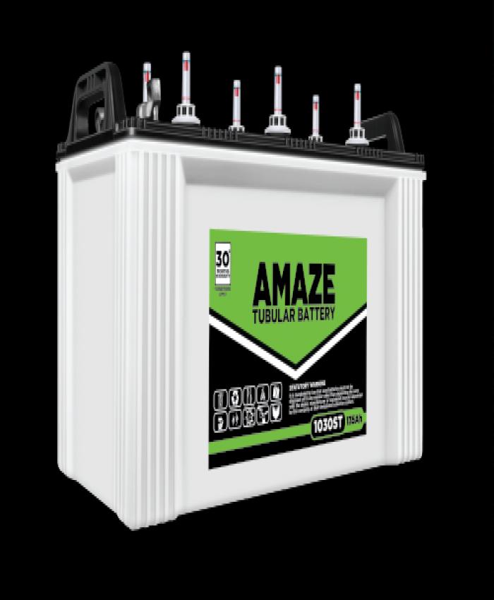 AMAZE 1030ST - 135AH Short Tubular Battery