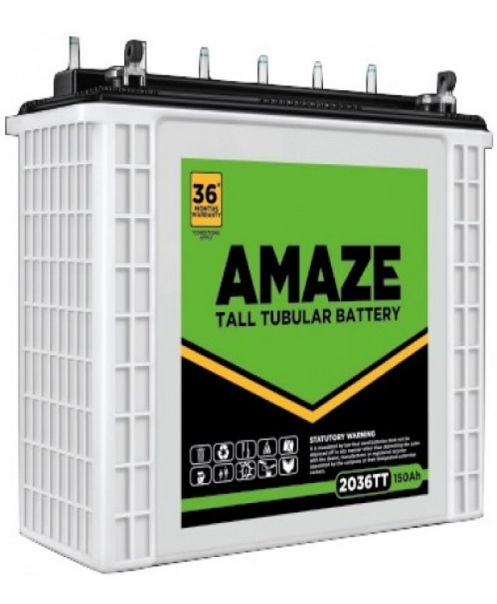AMAZE 2036-STJ Jumbo Tubular Battery