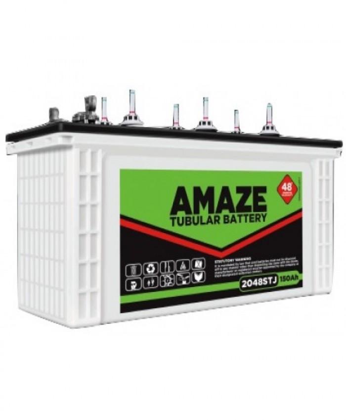 AMAZE 2048 STJ-150 AH Jumbo Tubular Battery