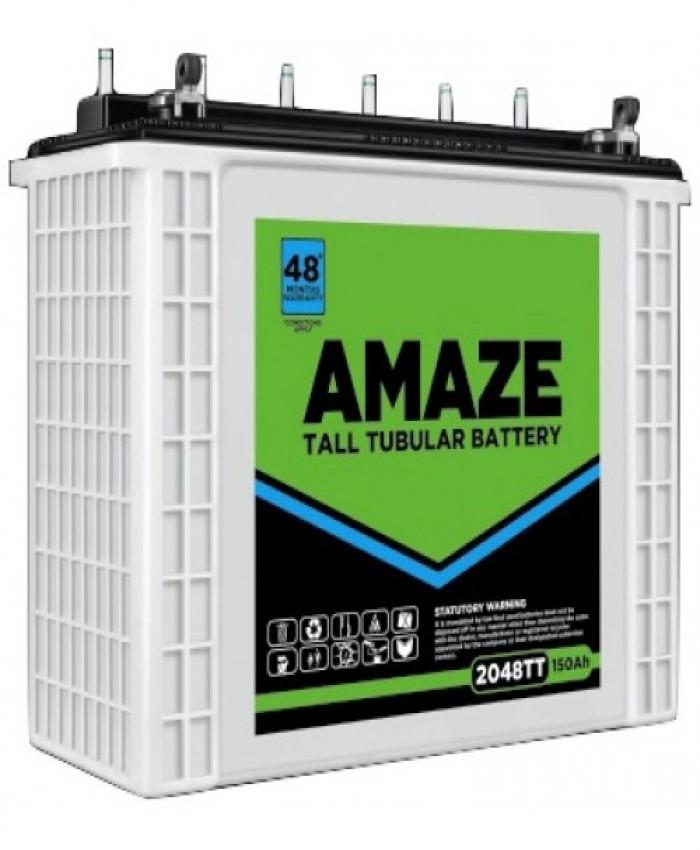AMAZE 2048 TT - 150 AH Jumbo Tubular Battery