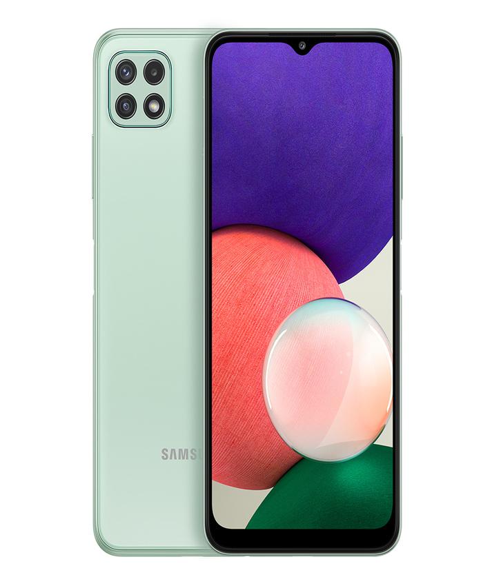 Samsung Galaxy A22 5G 128 GB, 6 GB RAM, Green, Smartphone
