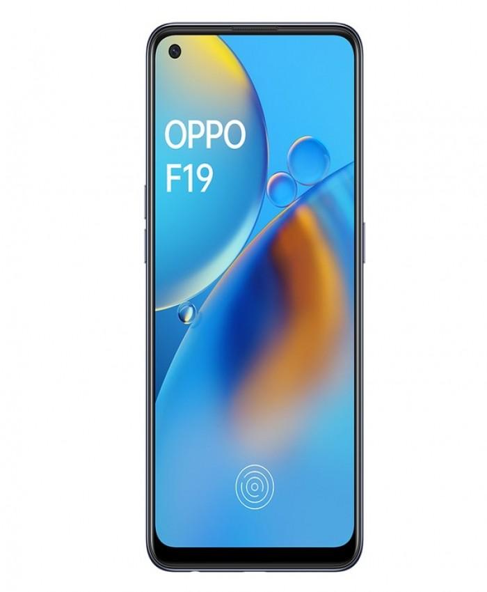 OPPO F19 128GB, 6GB RAM, Prism Black Smartphone