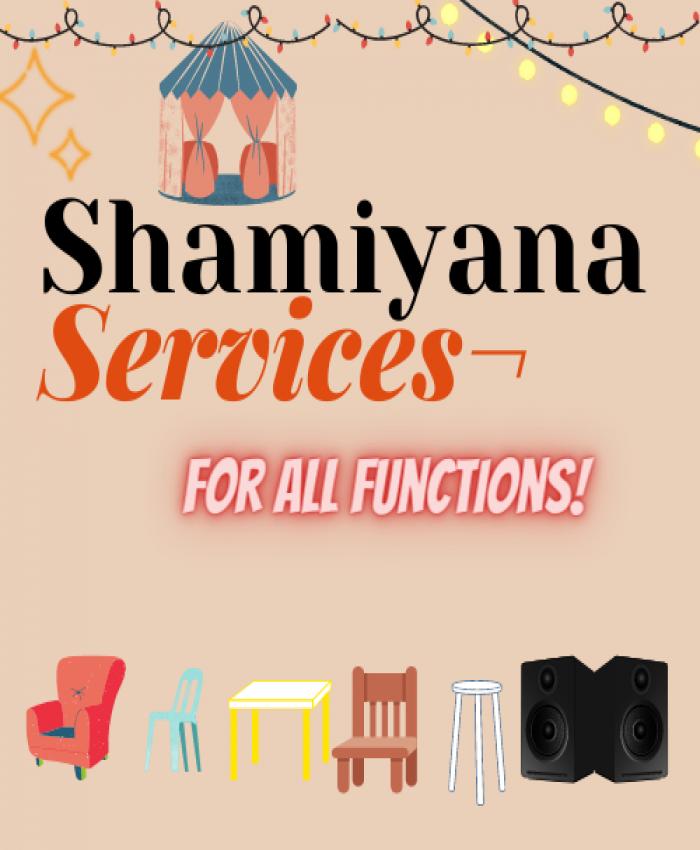 shamiyana Services (demo rekha)
